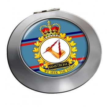 CFB Armstrong RCAF Chrome Mirror