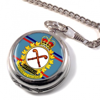 CFB Bagotville RCAF Pocket Watch