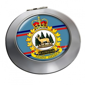 CFS Beausejour RCAF Chrome Mirror
