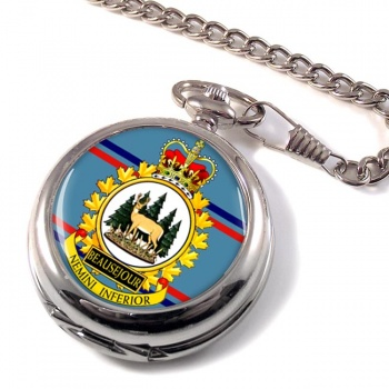 CFS Beausejour RCAF Pocket Watch