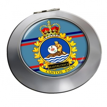CFS Beaverlodge RCAF Chrome Mirror