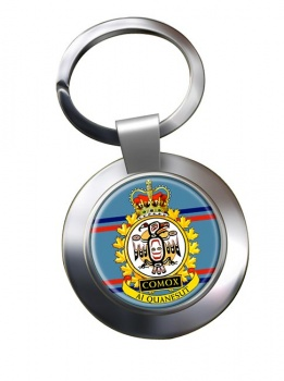 CFB Comox RCAF Chrome Key Ring