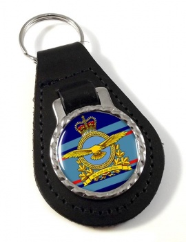 Royal Canadian Air Force (New) Leather Key Fob