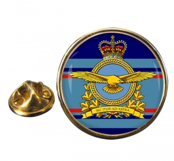 Royal Canadian Air Force (New) Round Pin Badge