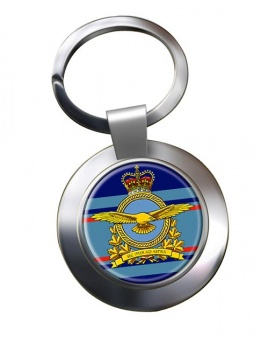 Royal Canadian Air Force (New) Chrome Key Ring