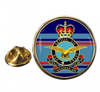 Royal Canadian Air Force (Old) Round Pin Badge