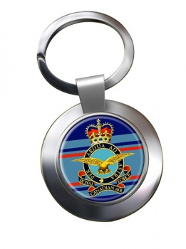 Royal Canadian Air Force (Old) Chrome Key Ring
