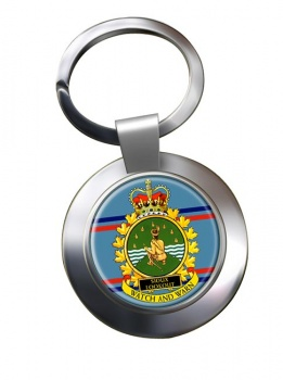 CFS Sioux Lookout RCAF Chrome Key Ring