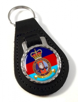 Royal Centre for Defence Medicine Leather Key Fob