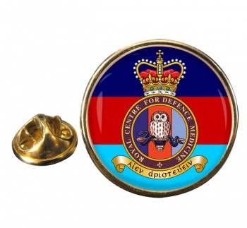 Royal Centre for Defence Medicine Round Pin Badge