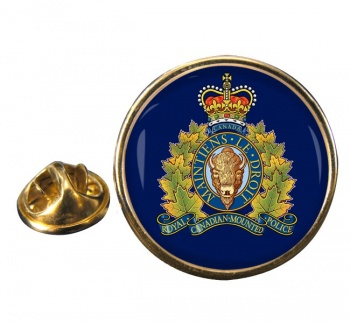 RCMP Round Pin Badge