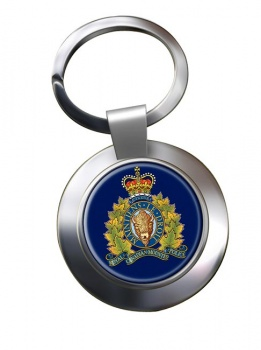 RCMP Chrome Key Ring