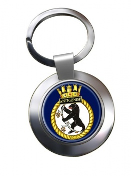 HMCS Antigonish Chrome Key Ring