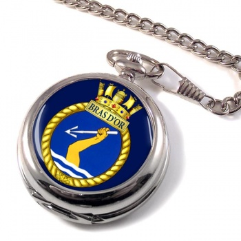 HMCS Bras d'Or Pocket Watch