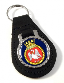 HMCS Buckingham Leather Key Fob
