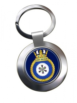 HMCS Cape Breton Chrome Key Ring