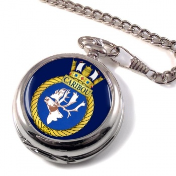 HMCS Caribou Pocket Watch
