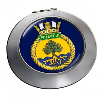 HMCS Cedarwood Chrome Mirror