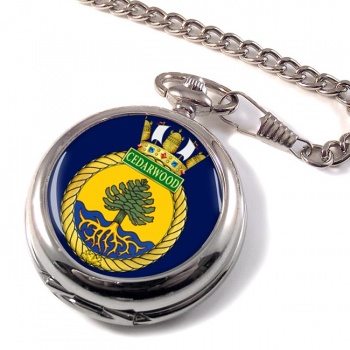 HMCS Cedarwood Pocket Watch