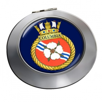 HMCS Columbia Chrome Mirror
