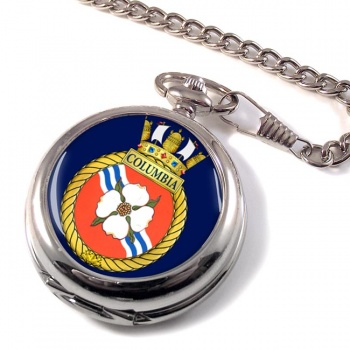 HMCS Columbia Pocket Watch