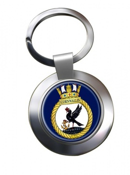 HMCS Cornwallis  Chrome Key Ring