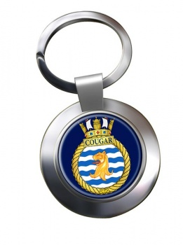 HMCS Cougar Chrome Key Ring