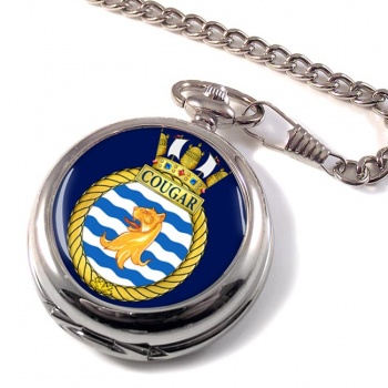 HMCS Cougar Pocket Watch
