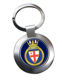 HMCS Crusader Chrome Key Ring