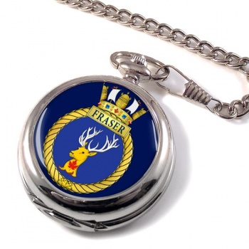 HMCS Fraser Pocket Watch