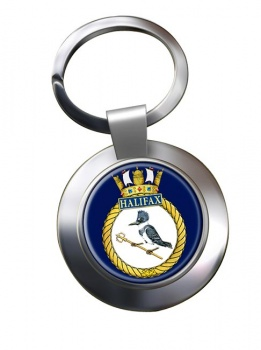 HMCS Halifax Chrome Key Ring