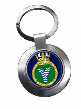 HMCS Kapuskasing Chrome Key Ring
