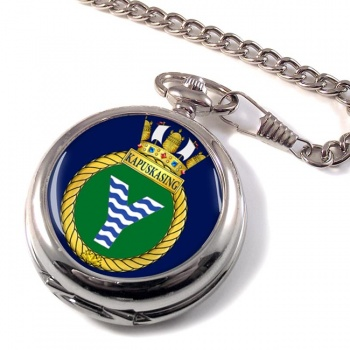 HMCS Kapuskasing Pocket Watch