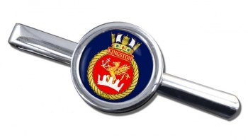 HMCS Kingston Round Tie Clip
