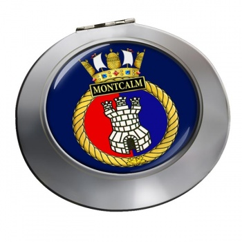 HMCS Montcalm Chrome Mirror