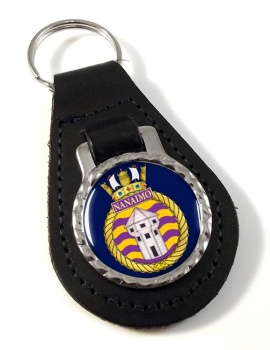 HMCS Nanaimo Leather Key Fob