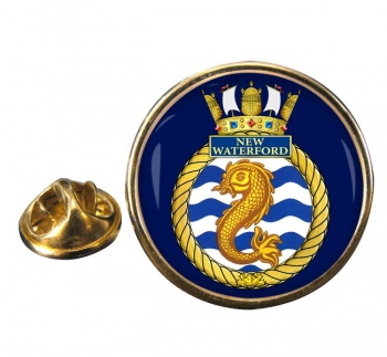 HMCS New Waterford Round Pin Badge