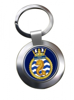 HMCS New Waterford Chrome Key Ring