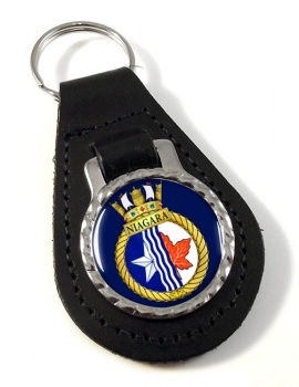 HMCS Niagara Leather Key Fob