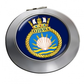 HMCS Ojibwa Chrome Mirror