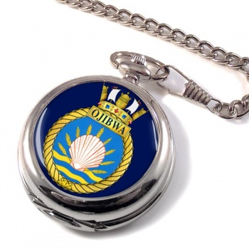 HMCS Ojibwa Pocket Watch