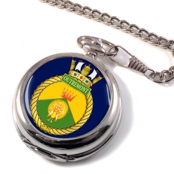 HMCS Outremont Pocket Watch