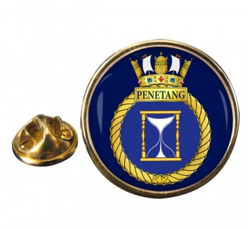HMCS Penetang Round Pin Badge