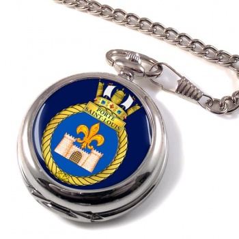 HMCS Porte Saint-Louis Pocket Watch