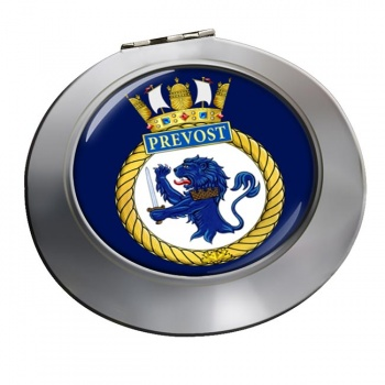 HMCS Prevost Chrome Mirror