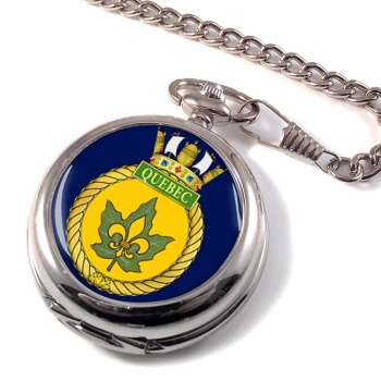 HMCS Quebec Pocket Watch