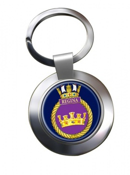 HMCS Regina Chrome Key Ring