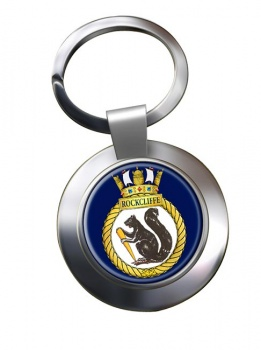 HMCS Rockcliffe Chrome Key Ring