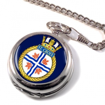 HMCS St. Croix Pocket Watch