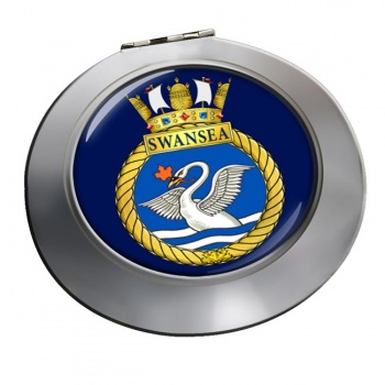 HMCS Swansea Chrome Mirror